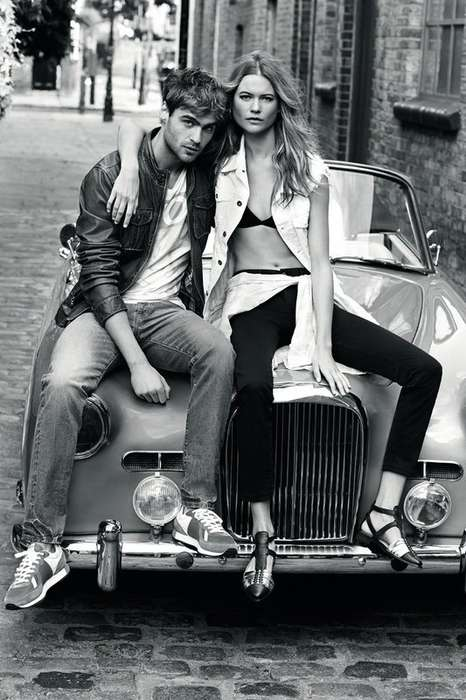 Edgy Effortless London Lookbooks - The Pepe Jeans London Spring/Summer 2014 Campaign is London Cool