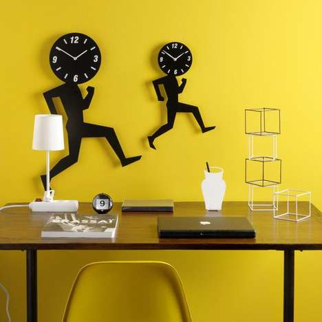 Physically Active Timepieces - With the Uomino Wall Clock, You