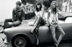 Car-Lounging Fashion Ads