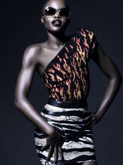Fierce Film Vixen Editorials - Lupita Nyong