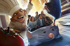 Disney Rat Fan Attractions
