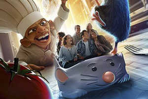 The Disneyland Paris Ratatouille Themed Attractions are Cute
