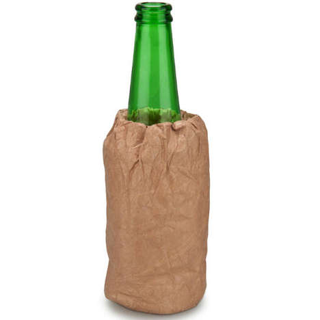 Discreet Beer Coolers - This Paper Bag Cooler Keeps Public Drinking Subtle