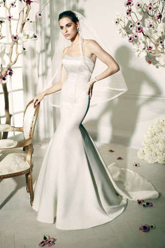 Affordable Designer Wedding Gowns - The Truly Zac Posen Debut Collection is Made for David