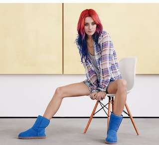 Acute Ankle Boot Campaigns - The UGG Spring 2014 Campaign Features Two Models On the Rise