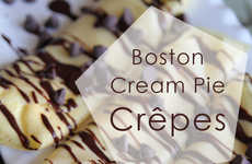 Decadent Donut-Flavored Crepes
