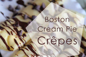 The Boston Cream Crepe is a Deliciously Decadent Fusion of Desserts