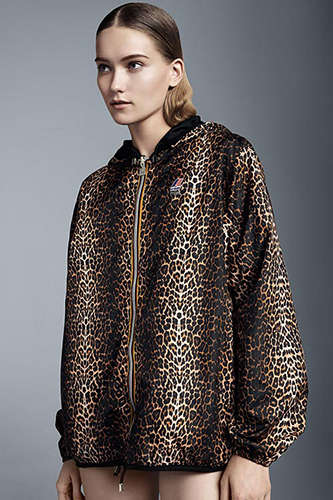 Animal Printed Outerwear - The Maje and K-Way Collection Features Lightweight Parka Jackets