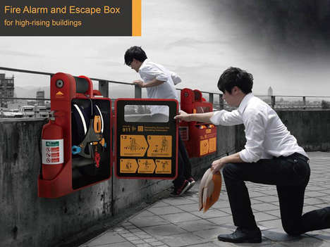 High Rise Escape Kits - The High Rise Escape Helps People Get Out of Scary Situations