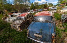 Haunting Classic Car Graveyards