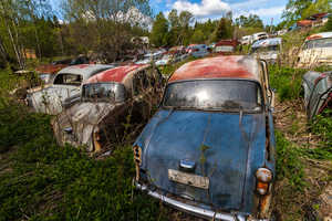 This Car Graveyard is the Final Resting Place for Classic Autos