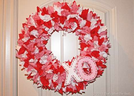 DIY Valentine's Day Wreaths - These DIY Over-the-Top Wreaths will Make Anyone Feel Extra Special