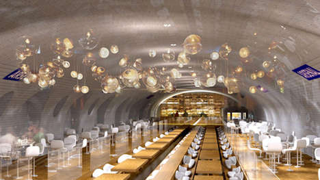 Altered Abandoned Subway Stations - This Subway Station in Paris is Redesigned for Entertainment