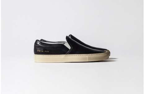 Italy-Inspired Loafers   - The 2014 Common Projects Shoe Collection is Simplistic and Crisp