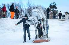 The AT-AT Sled is Perfect for DIY Jedis