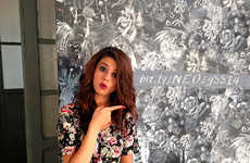 Social Media Scavenger Hunts - Selena Gomez is Promoting Her Adidas NEO Line Interactively Online