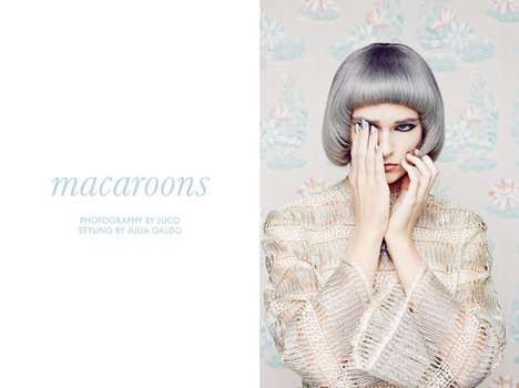 Whimsical Pastel Editorials - The Fashion Gone Rogue