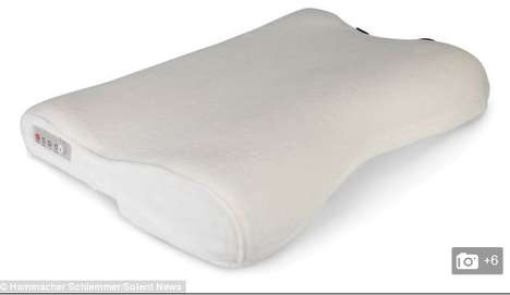 Automated Snore Stoppers - Pillow Adjusts Your Sleep Position