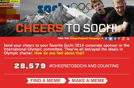 LGBT Parody Olympic Sites - This Website Protests Sponsorship of the Sochi 2014 Winter Olympic Games