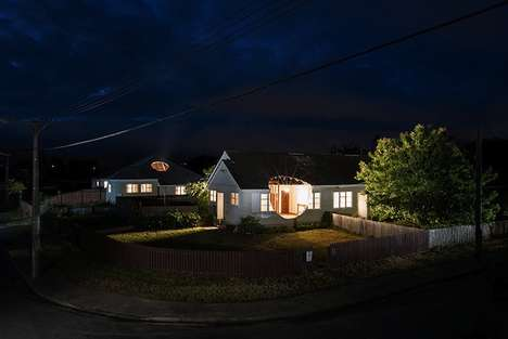 Oddly Restored Houses - The FINAL ACT Art Installation Commemorates Earthquake-Destroyed Residences