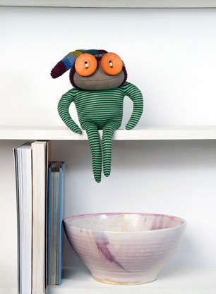 Eerily Charming Recycled Dolls - These Handmade Dolls are Both Curious-Looking and Cute