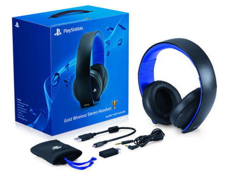 PS4 Wireless Gold Headset