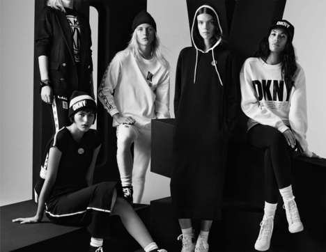 Slouchy-Minimalist Collaboration Collections - The DKNY x Opening Ceremony Collaboration is Bold