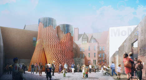 Bio-Bricked Living Towers - The Hy-Fi building Brings Architecture to Life, Literally