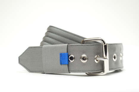 Creative Storage-Concealed Belts - The Quickcord Belt is Compact and Stylish With a Concealed Design