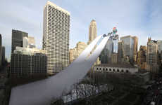 Imagined Urban Olympic Venues - New York Winter Olympic Venues are Imaginatively Impossible