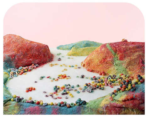 Unhealthy Food Landscapes - The Processed Views Photo Series Sheds Light on Poor Meal Choices