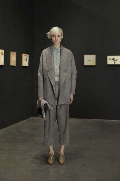 Realistic Runway Collections - The Rachel Comey Fall 2014 Collection Represents a Real-Life Style