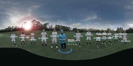 Virtual Rugby Training Experiences - Wear the Rose by O2 Lets Fans Play with Elite Rugby Players
