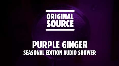 Shower Gel Sound Videos - Original Source Creates the Scents of Its Products Through Sound