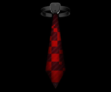 Tech-Savvy Neckties - The iTie from Tomislav Zvonaric Can Check Email and Instantly Change Color