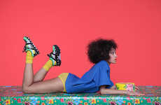 Brazil-Inspired Sportswear - The PUMA Girls of the Blaze Disc Collection is Designed by Solange