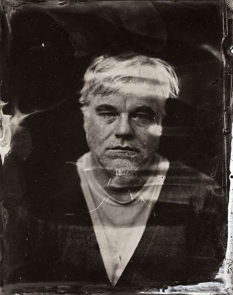 Metal Plate Celeb Portraits - Tintypes by Victoria Will Uses a Vintage Style of Photography