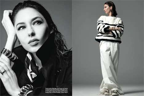 Elegant Director Editorials - The Photoshoot Starring Sofia Coppola for Vogue Italia is Glamorous