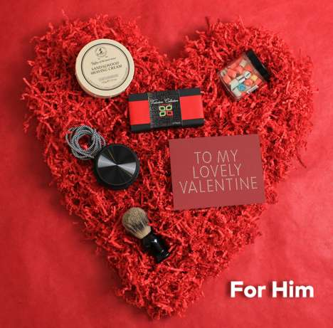 Romance-Inspiring Gift Packs - These Valentine's Day Gift Boxes Help Spread the Love