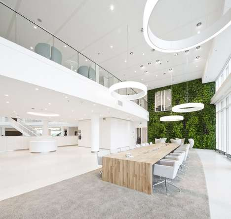 40 Eco-Friendly Office Spaces - From Grass-Grazing Offices to Herbivore Office Hulls