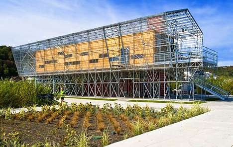 10 Complex Greenhouse Designs - From Eccentric Green Spaces to Greenhouse Schoolhouses