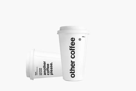 Simple Monochromatic Java Branding - This Minimalist Design Identity is Clean and Stylish