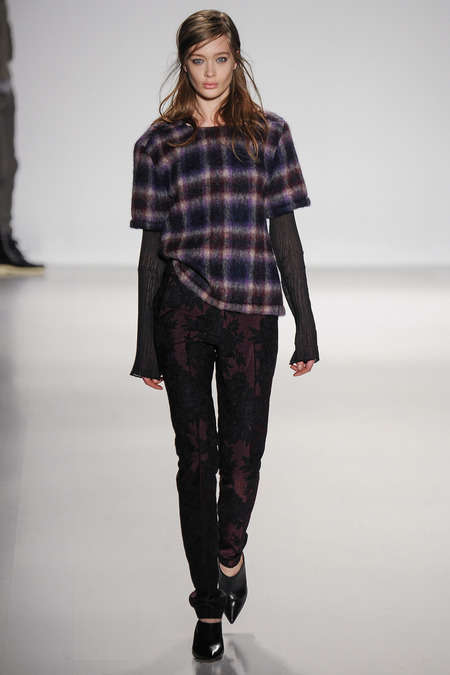 Revamped Grunge Fashions - The Richard Chai Love 2014 Collection Reinvents an Iconic 90s Style