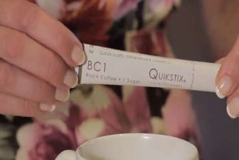 Perfect Portable Coffee Makers - Quikstix Lets Anybody Make Perfect Coffee On-the-Go