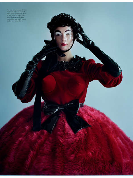 Freaky Figurine Photography - Tim Walker Shoots Insanity for Love Magazine Spring/Summer