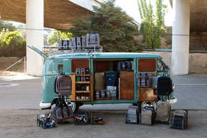 The Hex Bus is a Travelling Pop-Up Shop Bus