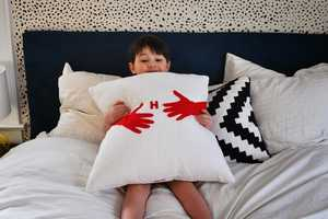 This DIY Hug Pillow Design is Perfect for Those In Need of Affection