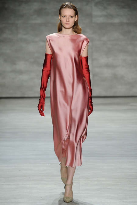 Slinky Feminine Fashions - The Tome Fall 2014 Fashions Channel Strength and Softness at Once
