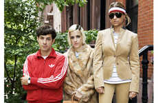 Recreating The Tenenbaums - The Royal Ronsons in Harper's Bazaar