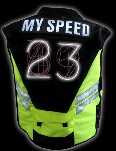 Speed Monitoring Clothing - The Speed Vest